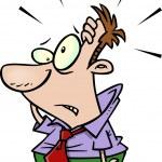 Cartoon man realize — Stock Vector #13951334