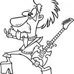 ������, ������: Cartoon Nerd Rock