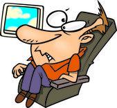 Cartoon Airline Passenger — Stock Vector