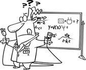 Cartoon Not Rocket Science — Stock Vector