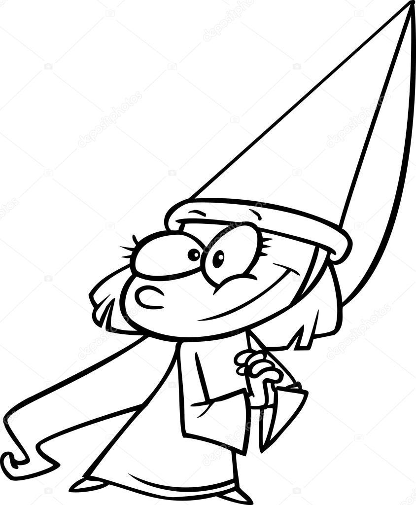 Principessa cartoni - disegni da colorare - imagixs