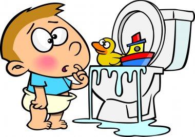 Cartoon Bathroom Follies