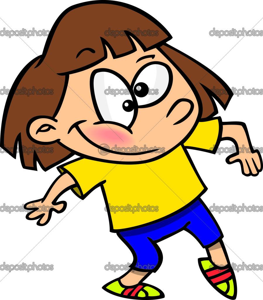 Dancing Girl Cartoon Images Cartoon Girl Jazz Dancingc