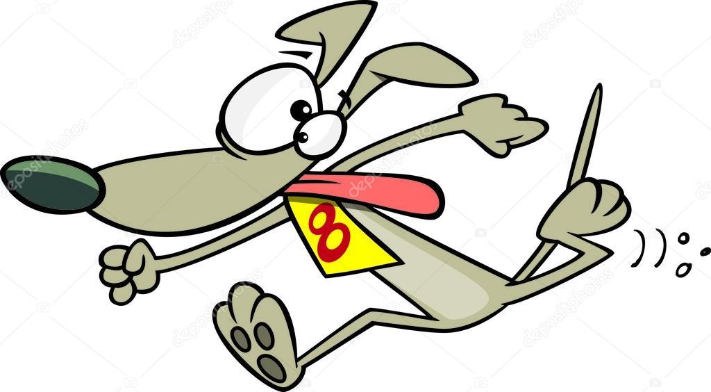 dog racing clip art - photo #17