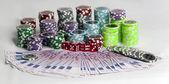 Poker's chip — Stock Photo