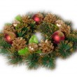 Traditional Christmas decoration — Stock Photo
