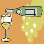 Pouring wine — Stock Photo #12175158