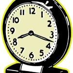 A vintage clock — Stock Photo #12434168