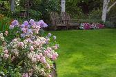 Relaxing Garden — Stock Photo