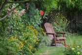 Ritiro del cortile — Foto Stock