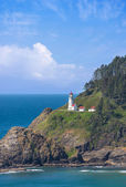 Lighthouse at Heceta Head — Stock Photo