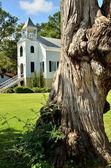 Zabytkowej kaplicy w mieście saint marys gruzji przez jackie debusk — Zdjęcie stockowe