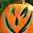 Royalty-Free Stock Photo: Blue lined jack-o-lantern