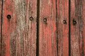 レッドウッドの塗料をフェージング — ストック写真