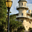Lamp post at Jekyll Island — Stock Photo