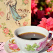 ������, ������: Old timey saucer and cup