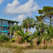 Classic beach lodging - Foto Stock
