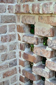 Brick lattice work — Stock Photo
