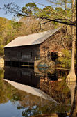 Grist mill at George L. Smith — Stock Photo