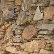 Stock Photo: Rugged rock wall