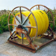 Large Hose Pipe Reel — Stock Photo #30262861