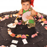 Cute girl in gypdy dress — Stock Photo #13226859