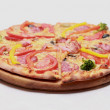 Stock Photo: Pizzwith cheese