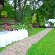 Outdoor Wedding Ceremony — Stock Photo