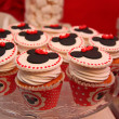 Mickey mouse cupcakes — Stock Photo