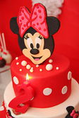 Mickey mouse cake — Stock Photo