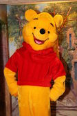 Animator wearing Winnie the Pooh costume — Stock Photo