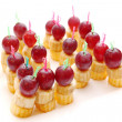 Stock Photo: Fruit canape