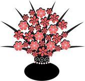 瓶花 — 图库矢量图片