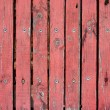 Screwed wood planks seamless texture — Stock Photo
