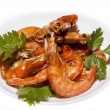 Fried Shrimps — Stock Photo #12179255