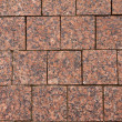 Square brick tile background — Stock Photo