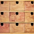 Stock Photo: Vintage wooden drawer