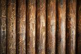 Wyblakły kłody drewniane, stary teksturowanej drewna — Zdjęcie stockowe