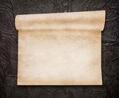 Wieku zwitek papieru, starej skóry na tle — Zdjęcie stockowe