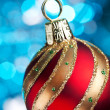Christmas and new year decoration. Greeting card. — Stockfoto