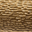 Metal background, gold color, corrugated texture - Stock Photo
