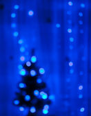 Abstract christmas lights as background — Stock Photo