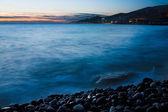 Coastal Landscape after Sunset — Stock Photo