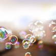 Soap bubbles, abstract background — Stock Photo #25100477
