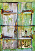 Old wooden shutters, background — Stock Photo