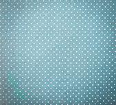 Blue Fabric and White Tiny Polka Dots Background — Stock Photo