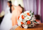 Bouquet de noiva — Foto Stock