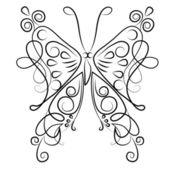 Butterfly — Vettoriale Stock
