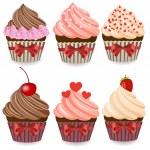 Cupcake — Stock Vector #30509569