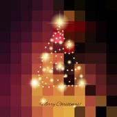 Christmas Tree - vector illustration — Stock Vector